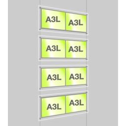 A3 LED Light Pocket Kit