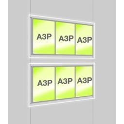 A3 Illuminated Display System