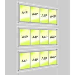 A4 LED display