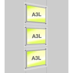 A3 Poster Light Pockets