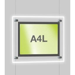 A4 Landscape Cable light panels