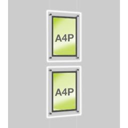 A4 Light panel Display