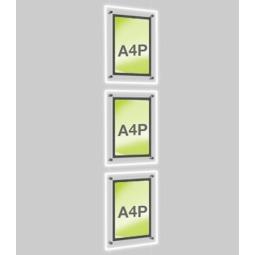 A4 Retail Light Pockets