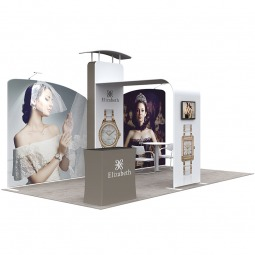 Custom Fabric Exhibition Stand