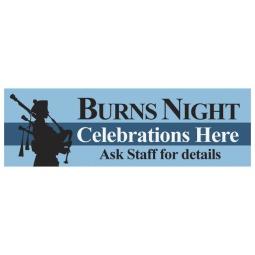 Burns Night - Banner 113
