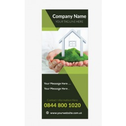 Business Banner 4 - Banner Stand 124