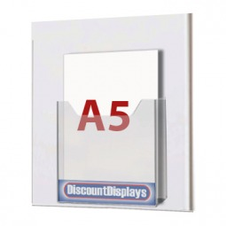 Cable System Leaflet Dispenser - 1xA5 on A4 Centre