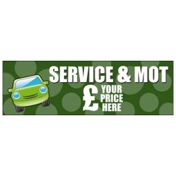 Service & MOT - Banner 121