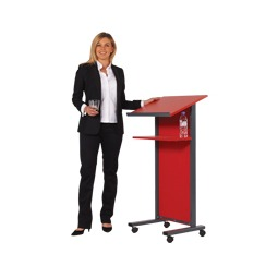 Coloured Panel Front Lectern