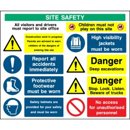 Individual Site Safety Children Must Not Play Sign - Correx | Foamex | Dibond