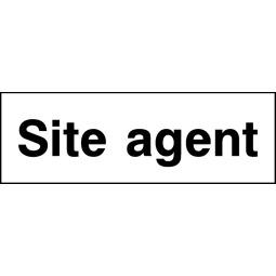 Pack of 6 Site Agent - Correx   Foamex   Dibond   Vinyl