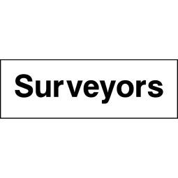 Pack of 6 Surveyors - Correx   Foamex   Dibond   Vinyl