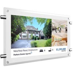 "Estate Agents Window 15"" Digital Display Screens"