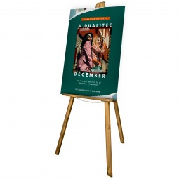 Display Easel with Custom Foamex Sign