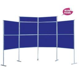Trade Show Pole & Panel Display Stand