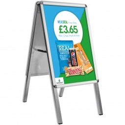 Economy A1 Pavement Sign - Snapframe A Board