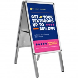 Economy A2 A-Board Pavement Sign