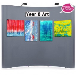 3x5 velcro friendly Pop Up Exhibition Stand