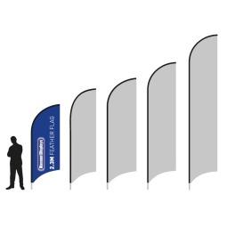 Mini Feather Advertising Flag