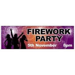 Fireworks Night - Banner 208