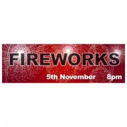 Fireworks Night - Banner 210