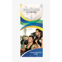 Fitness Banner 14 - Banner Stand 113