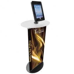 Floor standing iPad holder