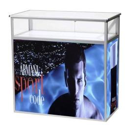 Portable Folding Display Cabinet