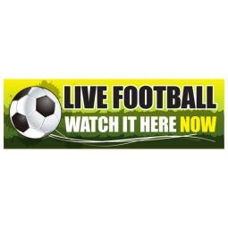 Live Football - Banner 213