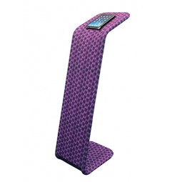 Formulate Universal Tablet Holder with Printed Fabric Graphic