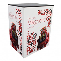 Formulate Magnetic Exhibition Counter - With Stretch Fabric