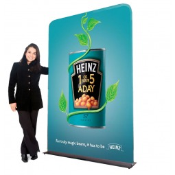 Stretch fabric display system