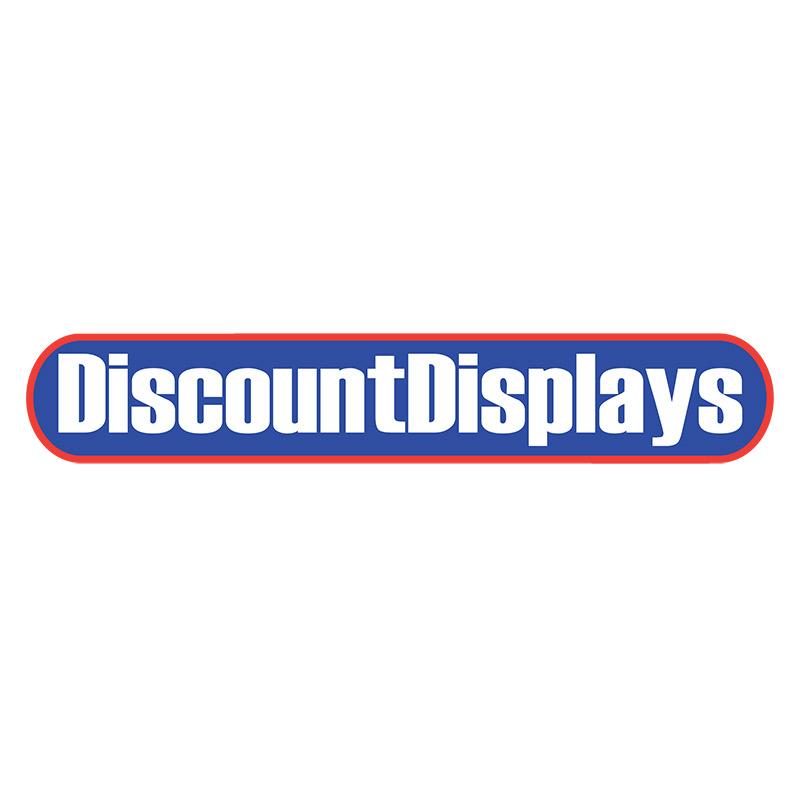 Formulate slant printed fabric display
