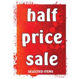 Half Price Sale - Poster 159