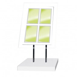 Multi Frame Freestanding LED Illuminated Display