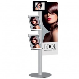 iPad holder, 2 brochure dispensers and foamex graphic panel