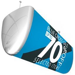 Ceiling Hanging Retail Display