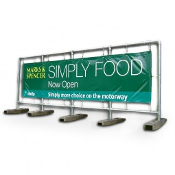 The Ultimate in Heavy-duty Frames - No Need to Create Fixed Signage