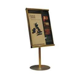 Menu Case Stand Mounted