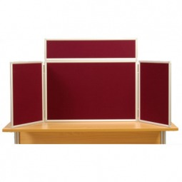 Folding Table Top Panel Stand