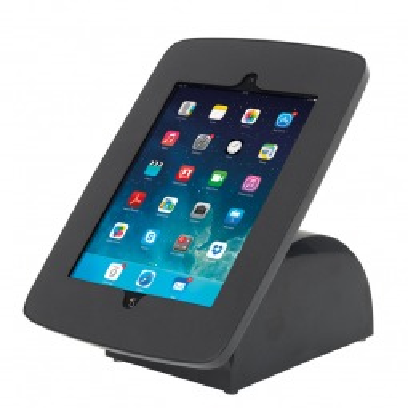 iPad Tablet Holder Black - Portrait