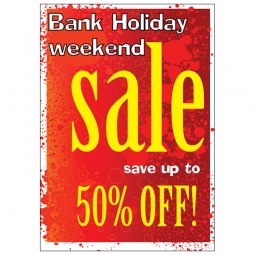 Bank Holiday Sale - Poster 148