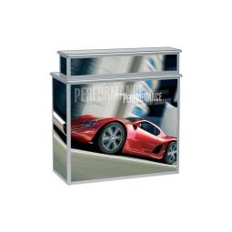 Portable Folding Trade Show Counter