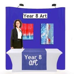 School art show display kit