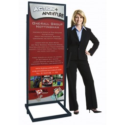 Free Standing Poster Display Stand