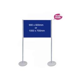 Pole & Panel Display Stand