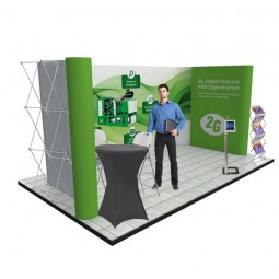 Exhibition Linked Popup Stand