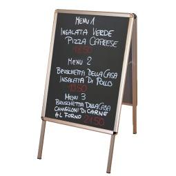 Snap shut A board / chalkboard