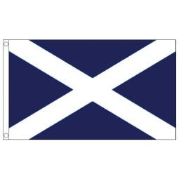 St Andrew's Scotland Flag - 5ft x 3ft - Promotional