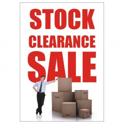 Stock Clearance - Poster 143